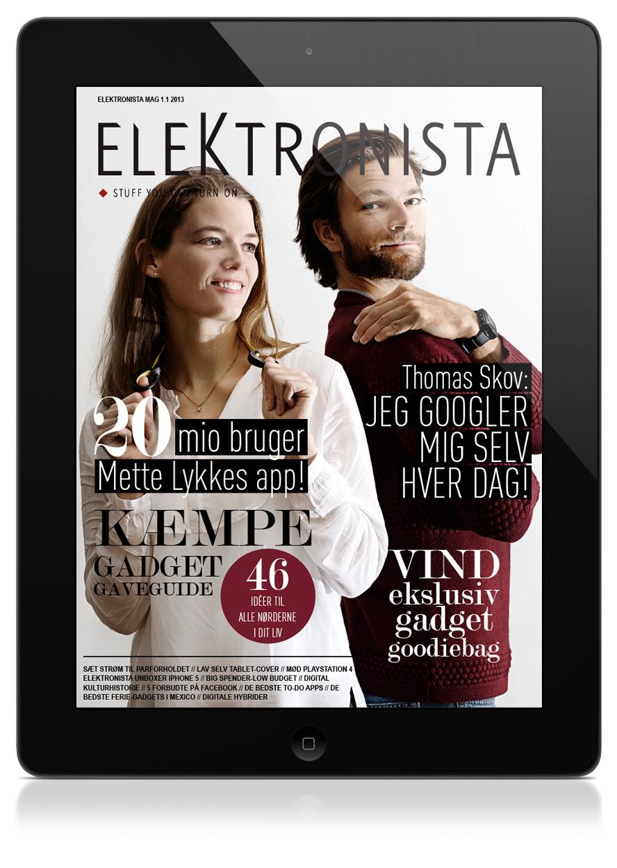 Elektronista iPad magasin