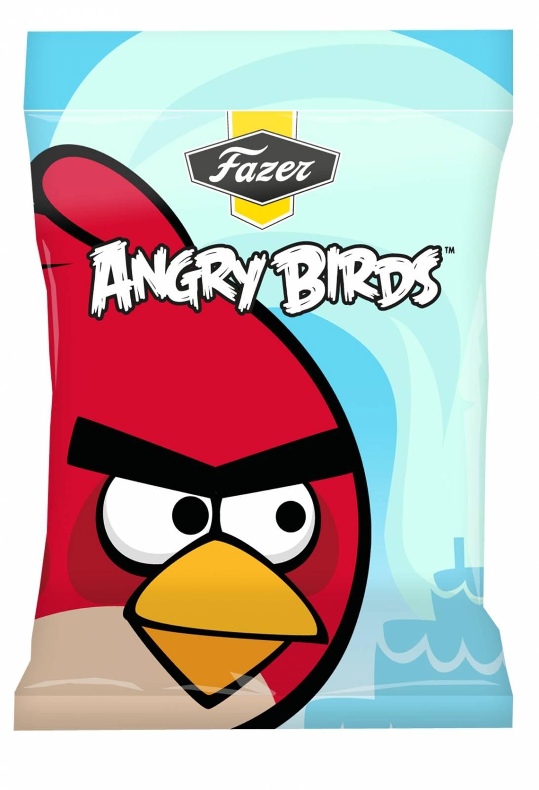 Angry Birds samarbejder med Fazer