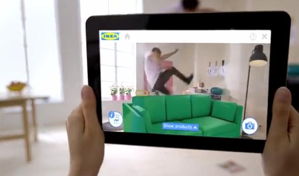 pr v ikea m blerne p nu med augmented reality app elektronista. Black Bedroom Furniture Sets. Home Design Ideas