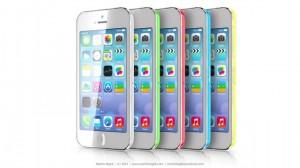 iphone 5c i forskellige farver