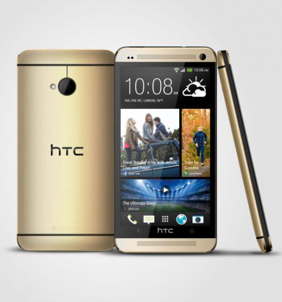 HTC One nu også i golden edition