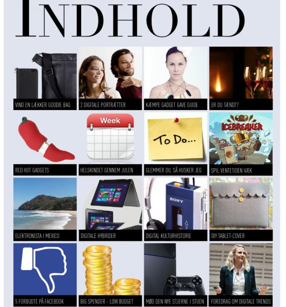 Elektronista Mag til iPad direkte ind som #1