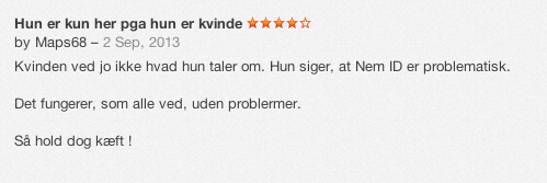 iTunes anmeldelse