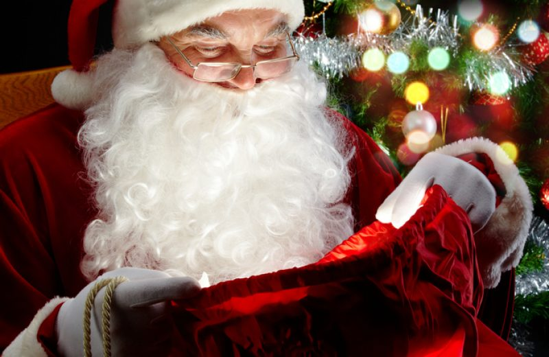 Her er julemandens telefonnummer. Lad MiniNørden ringe til ham!