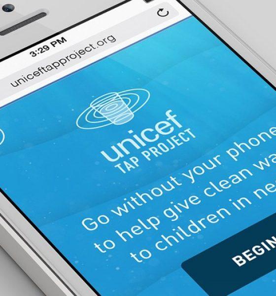 Giv et barn rent drikkevand ved at lægge telefonen ned