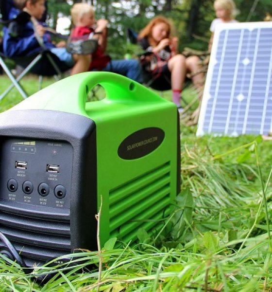 Solcellestrøm til friluftslivet