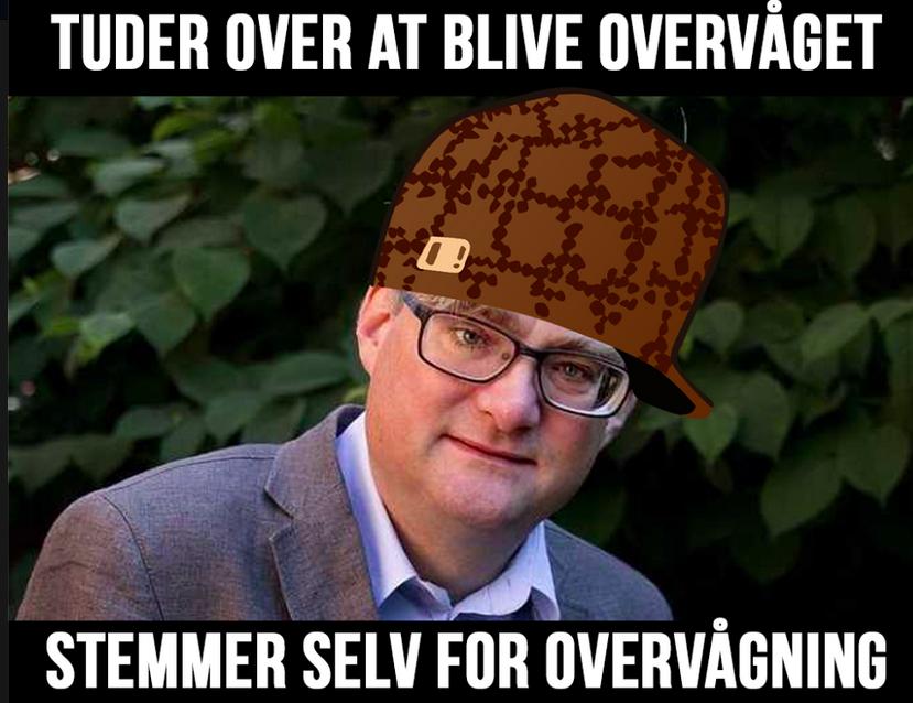 Scumbag Søren Pind
