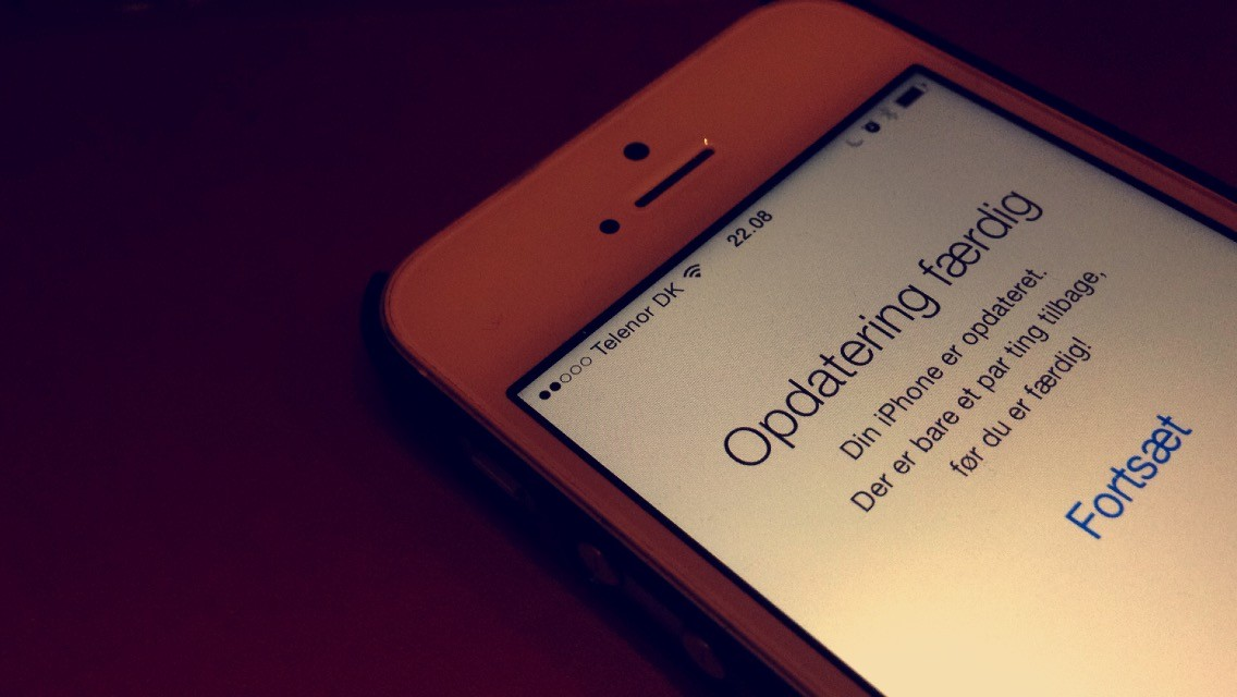 iOS 8 opdatering tips
