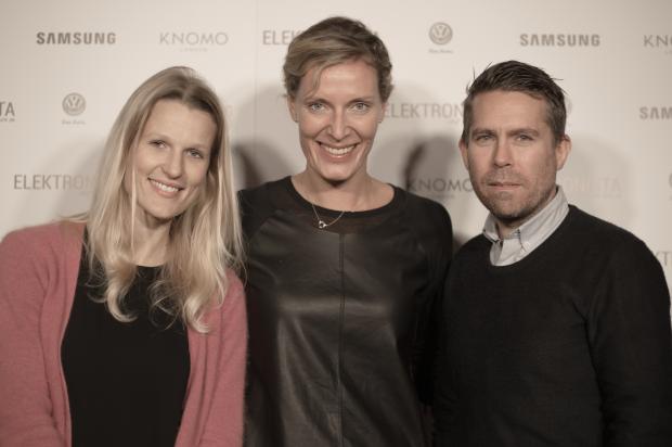 Julie Toft, Benedicte Bardram, Frederic Viking- fra Samsung
