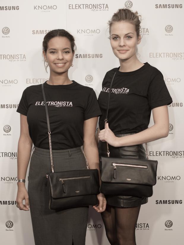 Nana Nielsen og Selilje Weiss