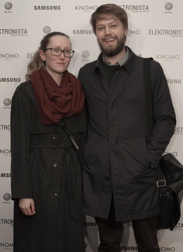 Elektronista skribenter Anne Mette Beck og Mikkel Winther
