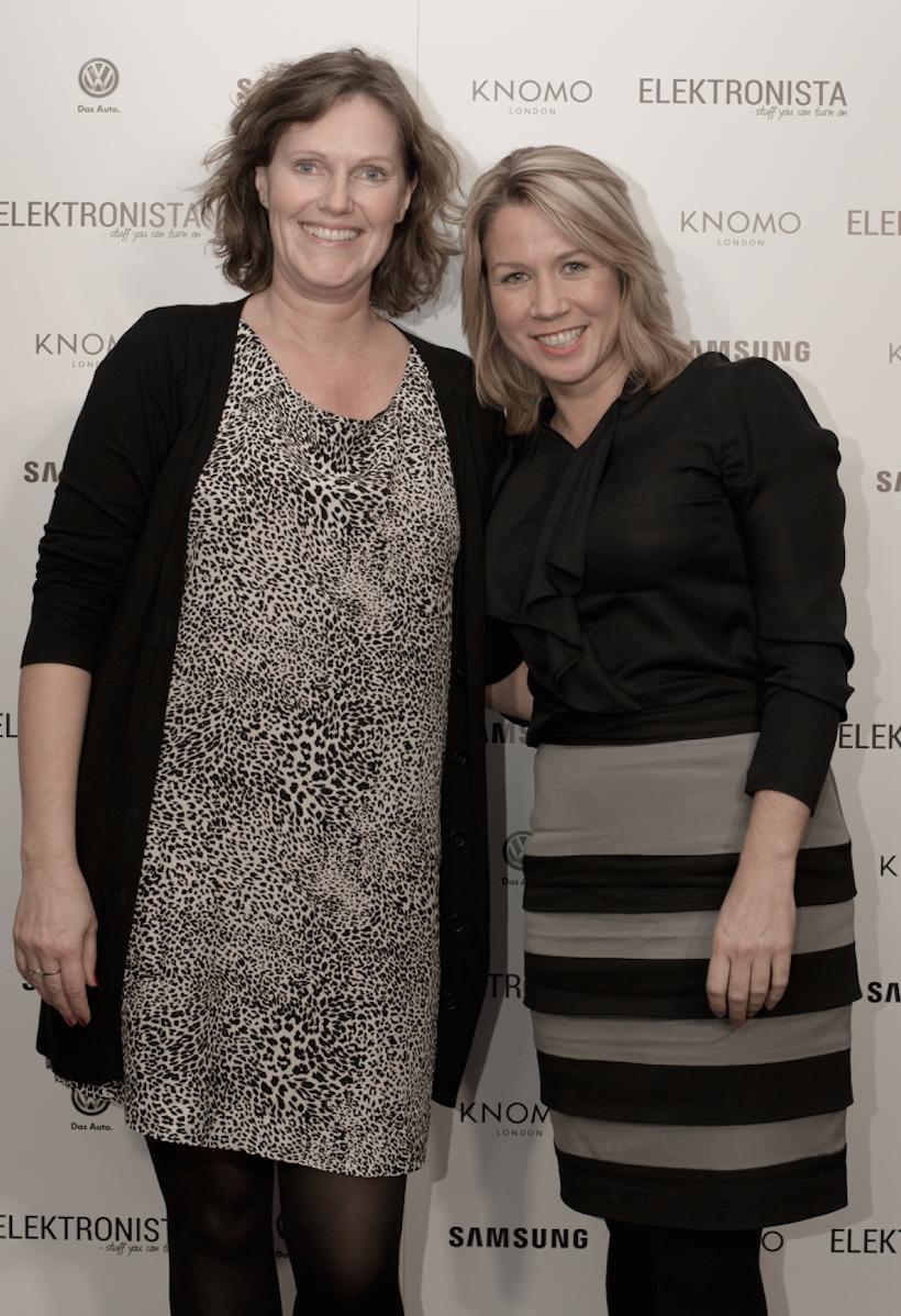Marianne Bentsen og Suzaan Sauerman fra Jabra
