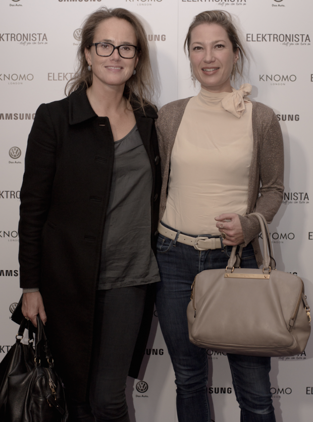 TV producent Anne Rudbæk + smykkedesigner Nicolette Stoltze