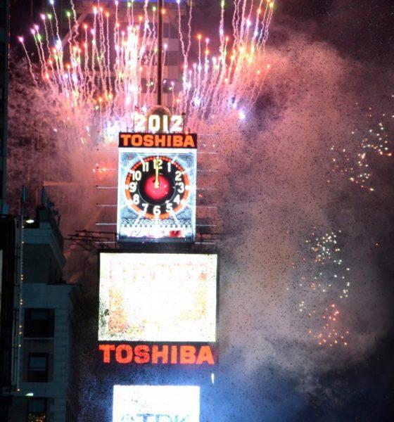 Den ultimative nytårsapp – New York Times square stemning i stuen