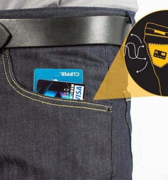 """Nyt tøj forhindrer """"digitale lommetyverier"""""""