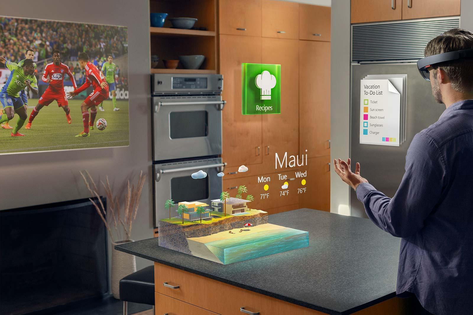 HoloLens i køkkenet