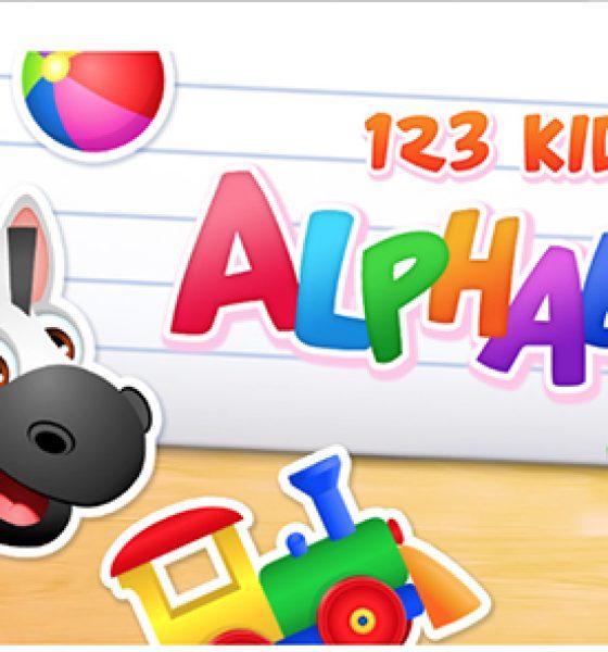 Lad dit barn lære alfabetet på engelsk