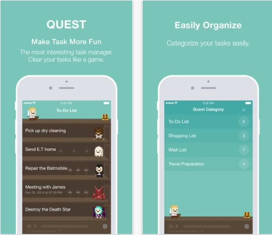 Quest task app