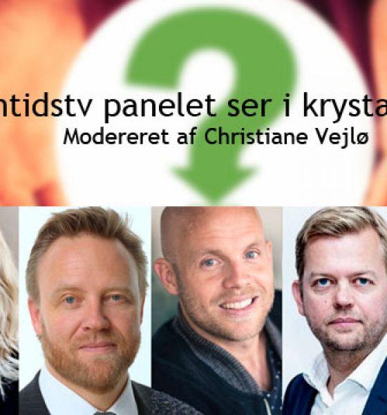 Se live paneldebat om fremtidens tv- med bl.a. Vejlø, Sonne og Guldager