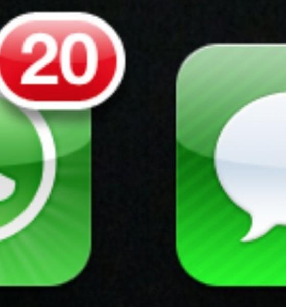 Én messaging app står for 50% mere trafik en verdens samlede SMS'er