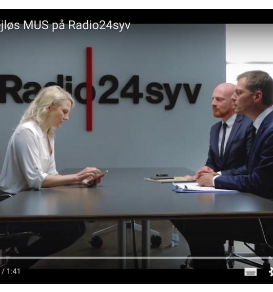 Christiane Vejlø MUS samtale på Radio24syv