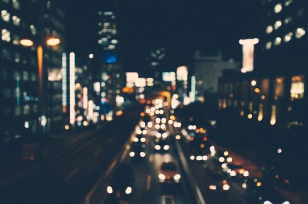 City lights, air quality