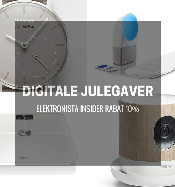 Digitale julegaver med Elektronista rabat!