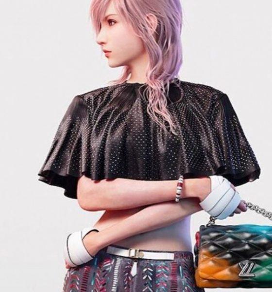 Fra heltinde i videospil til model for berømt modebrand