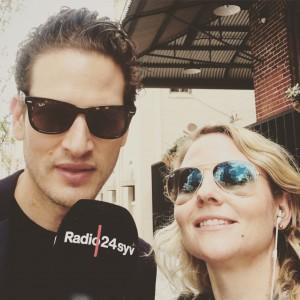 Christiane laver walk and talk med CEO Uri Minkoff