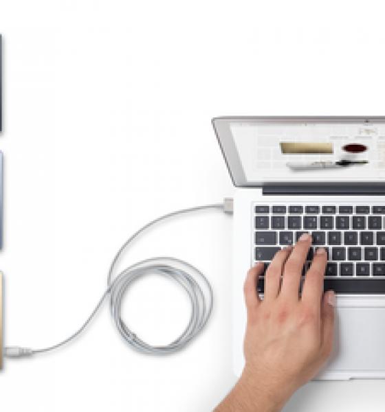 Elegant powerbank kan oplade din laptop