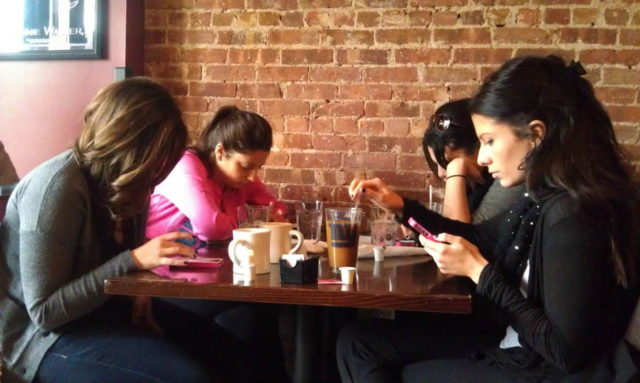 smartphones og spisning 1