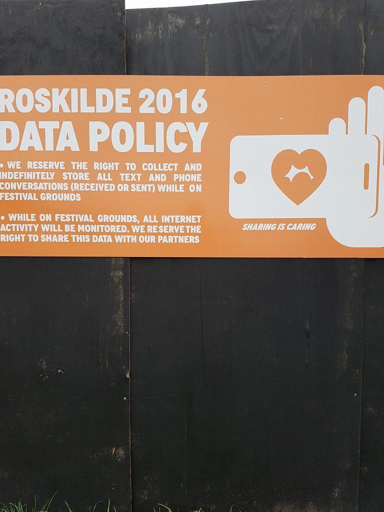 Roskilde Festival overvågning