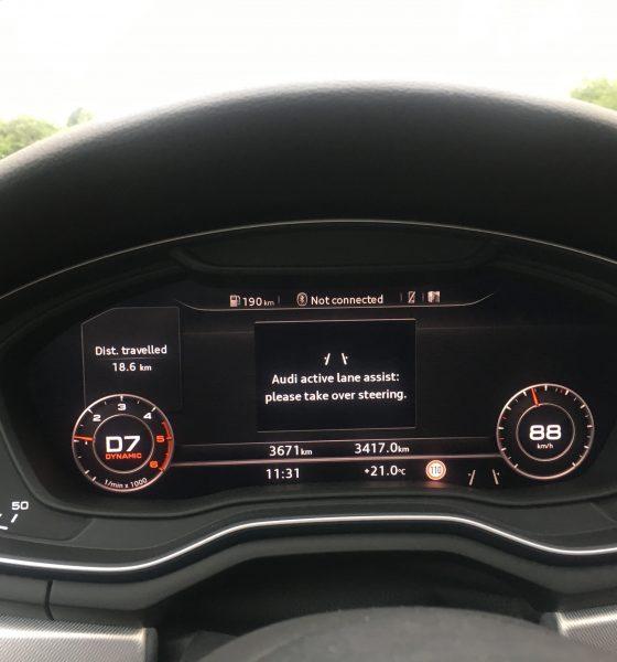 Elektronista tester: Allerede nu er en Audi temmelig selvkørende