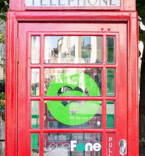 Telefonboksen bliver til mobilværksted