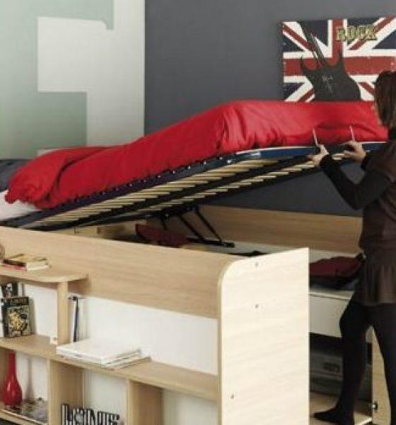 Den her seng løser alle dine opbevaringsproblemer