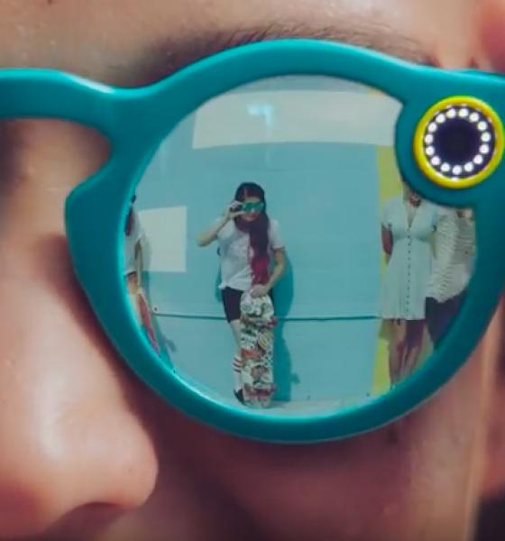 Snapchat kommer med egne videobriller