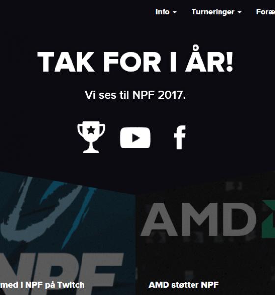 NPF – Danmarks største gaming-event