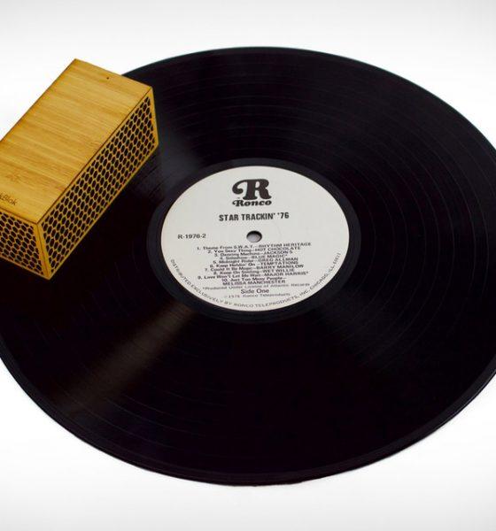 Her kører grammofonen rundt på pladen