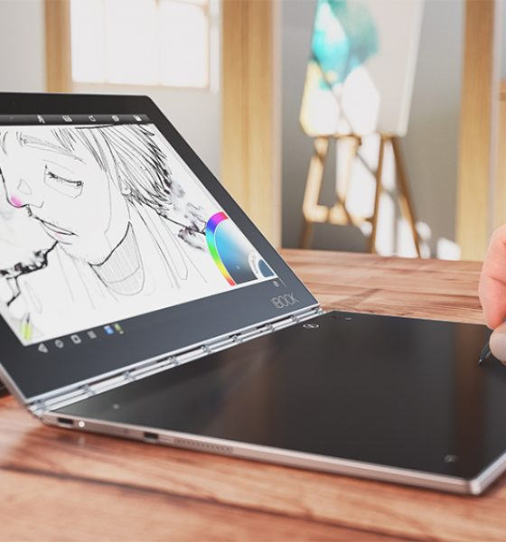 Advent #2 Vind en superlækker Lenovo Yoga Book – værdi ca. 5.000 kr.