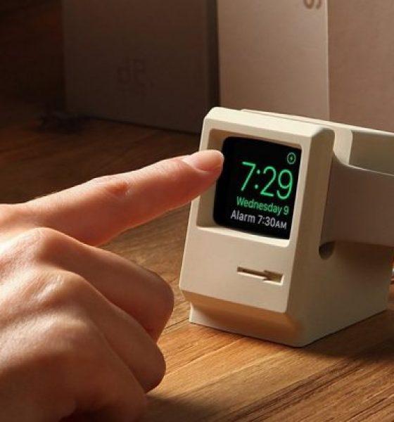 Parkér dit Apple Watch i en mini-Mac