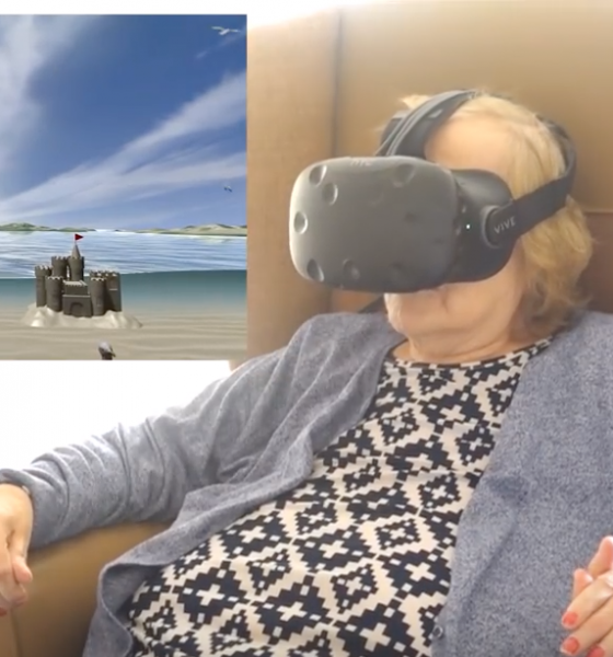 Virtual reality dulmer både demens og smerte