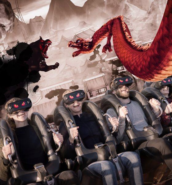 På rutsjebanetur i Tivoli med virtual reality