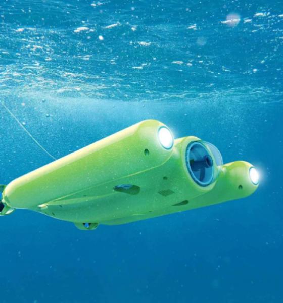 Mød Gladius – en drone til at udforske havet