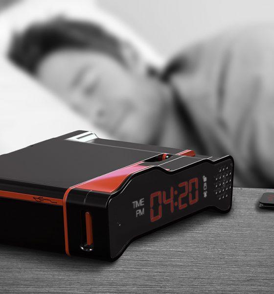Lås mobilen væk, når du skal sove