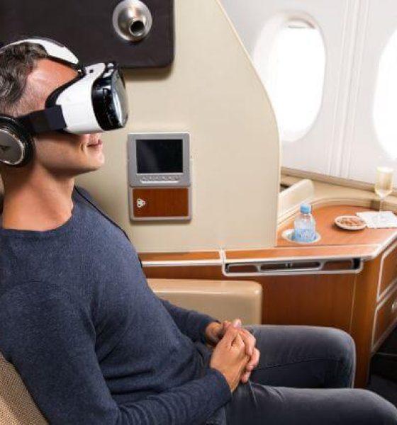 Slut med flyskræk? VR pimper underholdningen på flyrejsen