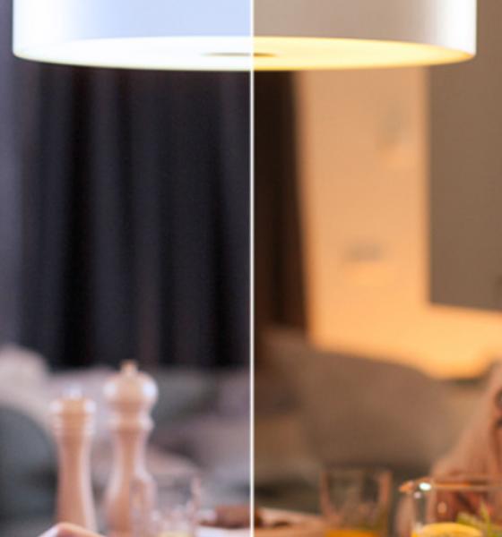 Fra kold til varm- Styr lyset i din bolig med en app
