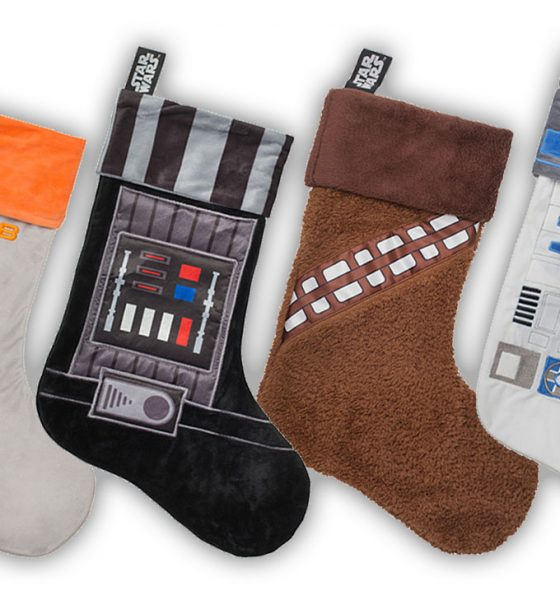 Det er ikke rigtig jul uden en Star Wars-julesok!