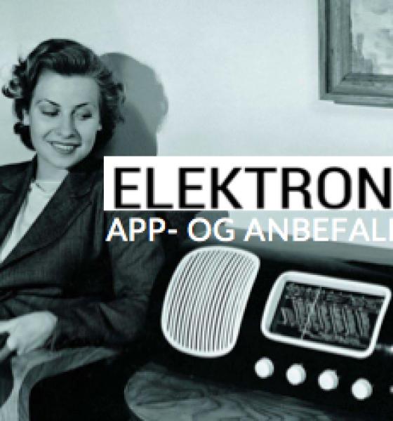Elektronista app- og anbefalinger i året der gik