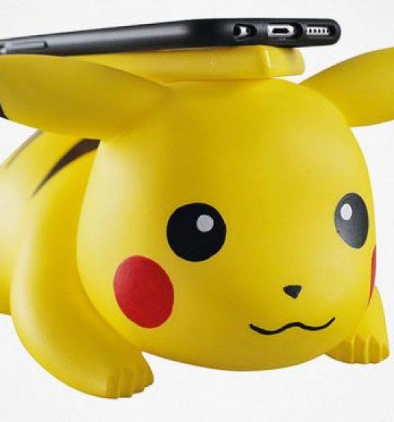 Pikachu giver mobilen ny energi