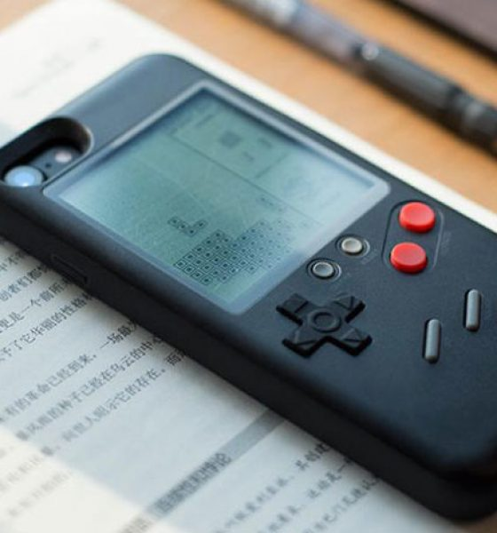 Game Boy som iPhone-cover